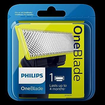 Philips QP210/50 - Cuchilla de recambio para Philips OneBlade, 1 ...