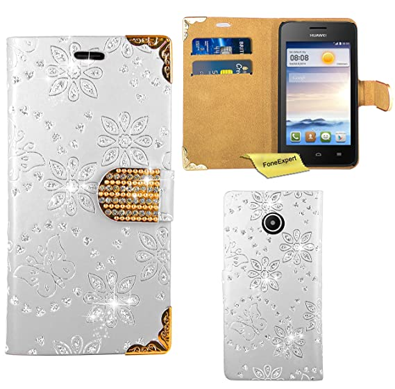 Amazon com: Huawei Ascend Y330 Case, FoneExpert Bling Luxury Diamond