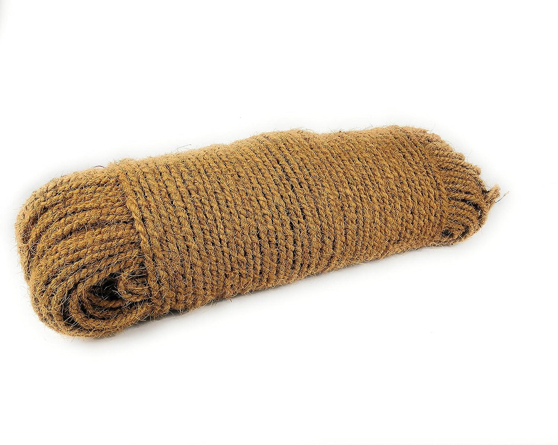Baumband 1 cm 7 m Kokosseil Naturseil Stärke ca
