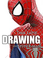 Time Lapse Drawing of Spider-Man