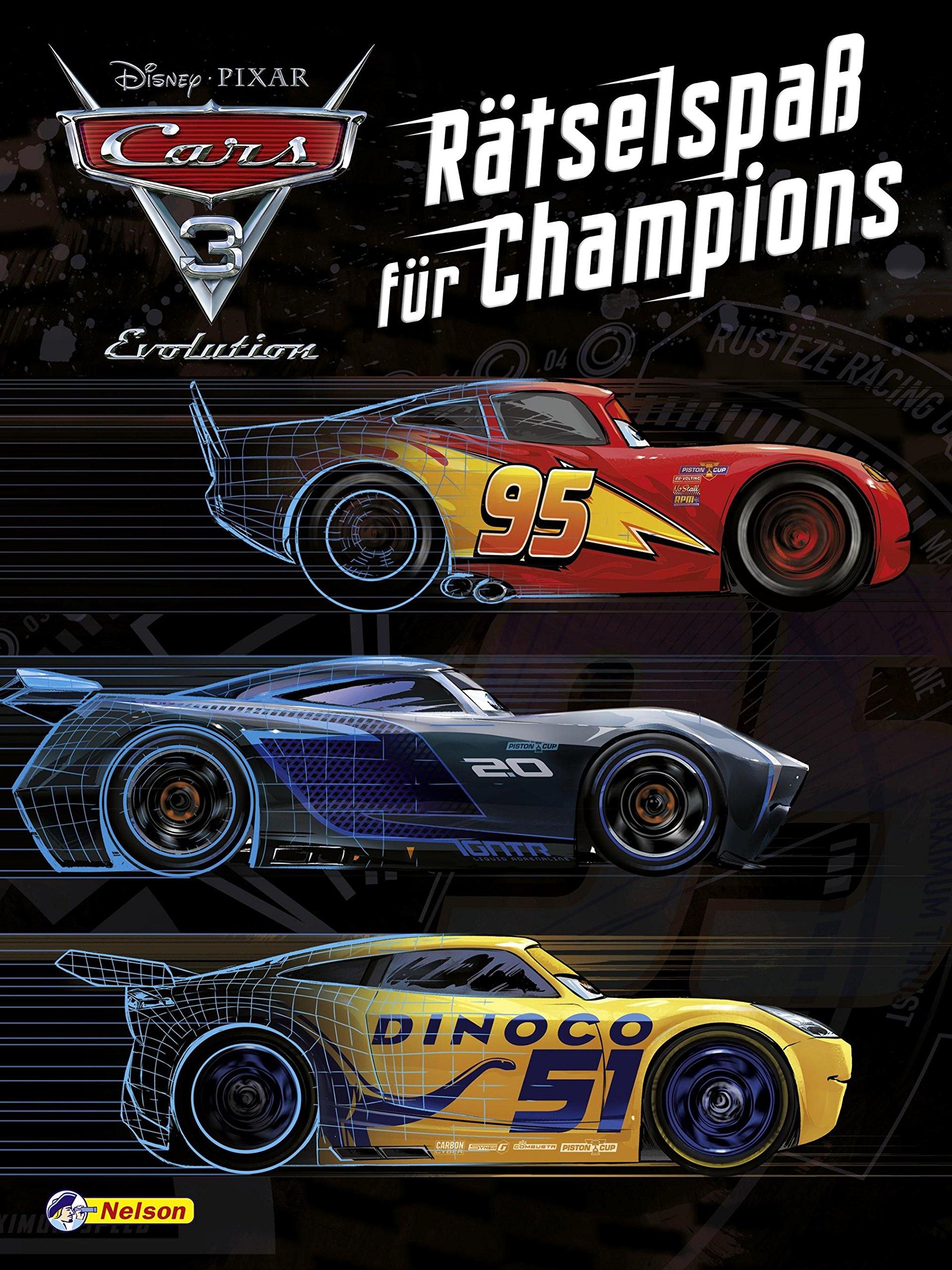 Disney Cars 3 : Rätselspaß für Champions