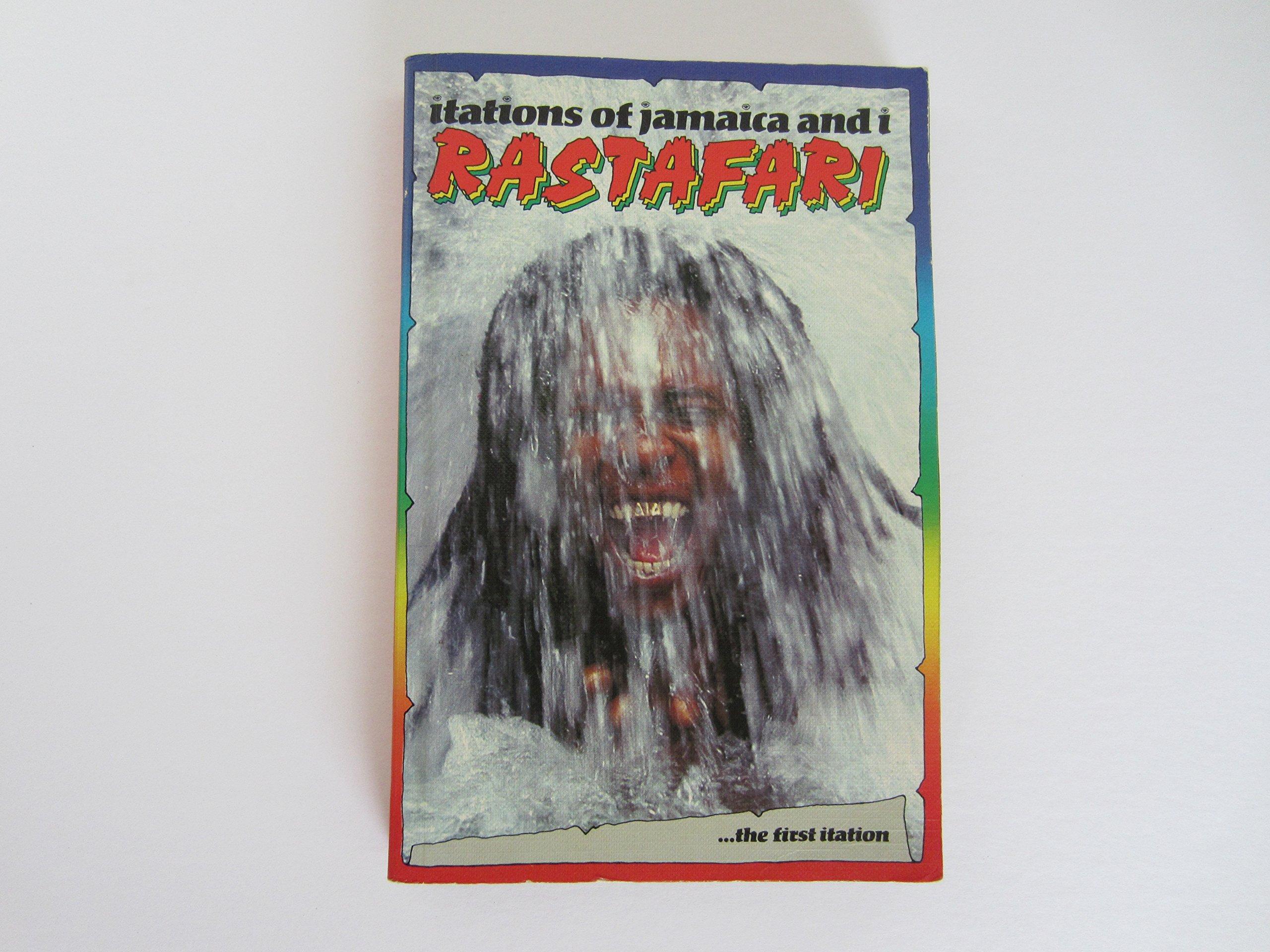 Itations of Jamaica and I Rastafari Mass Market Paperback – 1987 Millard Faristzaddi Judah Anbesa 0951222201 Culture