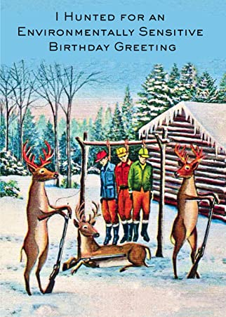 Amazon 6 pack deer hunting the hunters xxth century birthday 6 pack deer hunting the hunters xxth century birthday card 20205 bookmarktalkfo Image collections