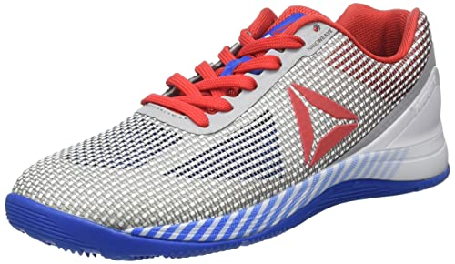 buy popular fa55f c9541 Reebok Men s Crossfit Nano 7 Nation Pack Fitness Shoes, Multicolour (White Awesome  Blue