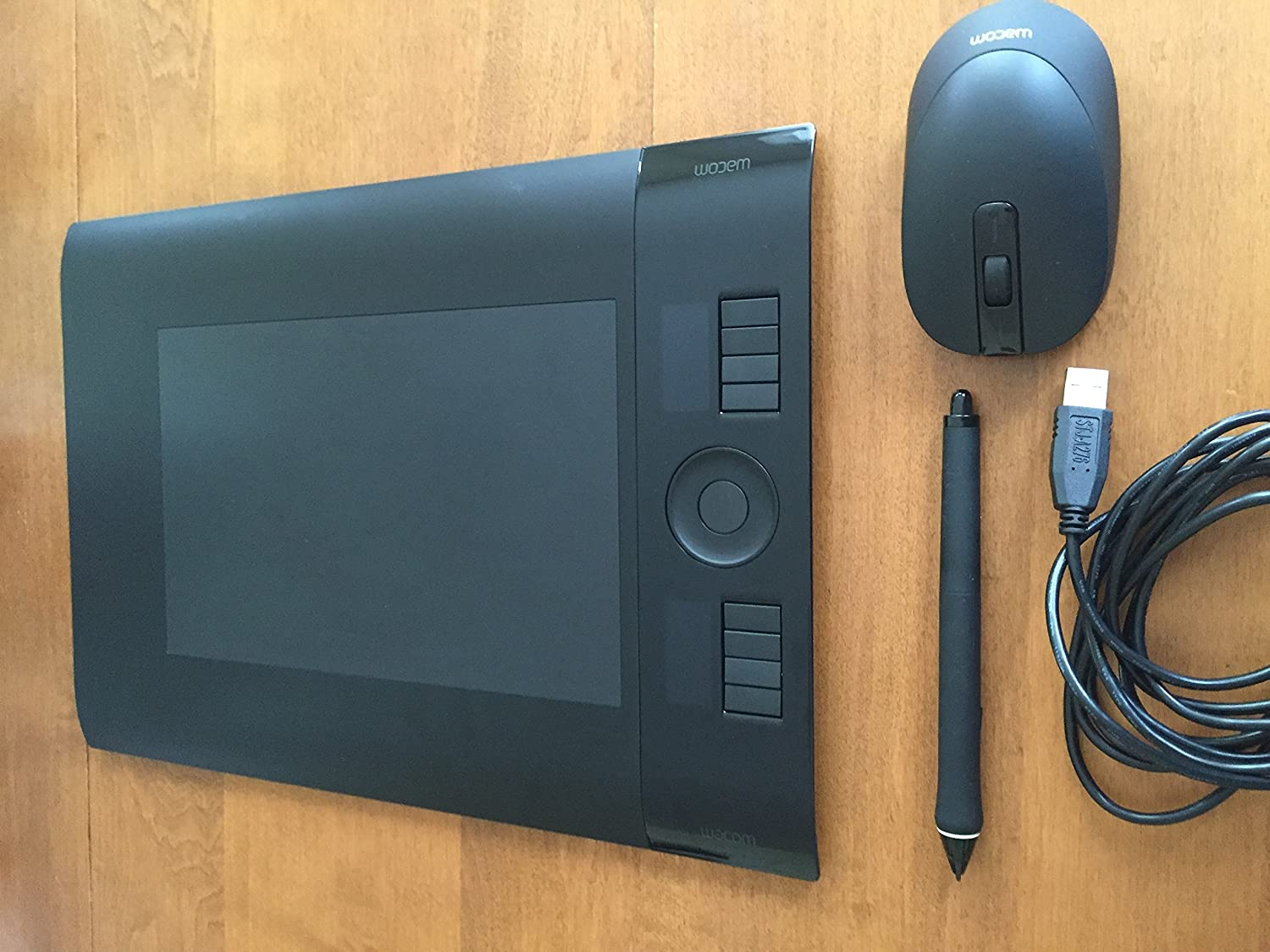 Wacom Intuos 4 INTUOS4 Cintiq21 replacement grip pen tested works good condition