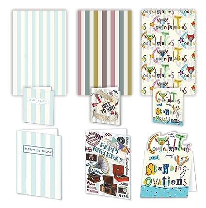Lujo parachoques Pack de tarjetas y regalos para hombres - 3 ...