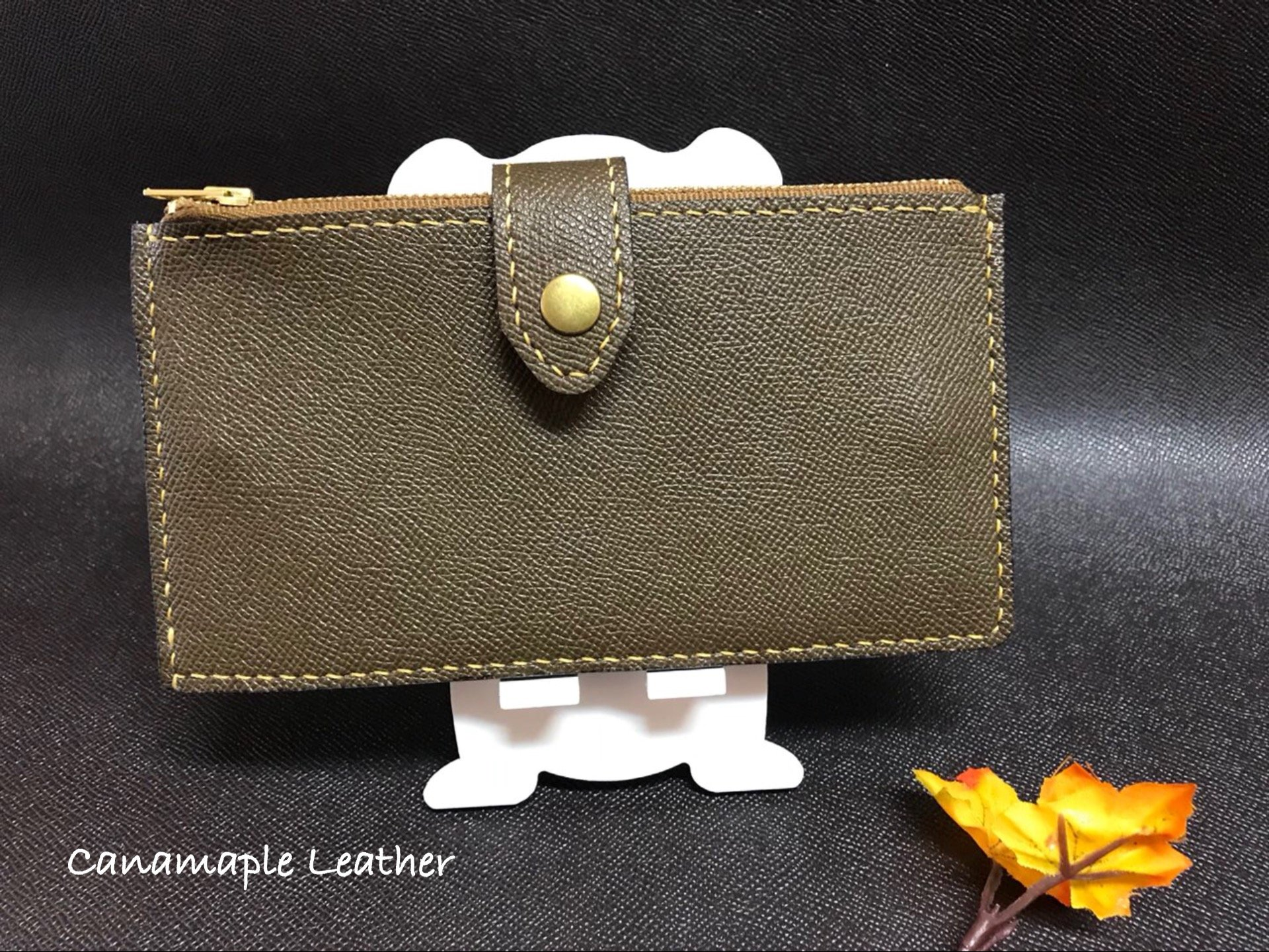 Leather Men's Card Case