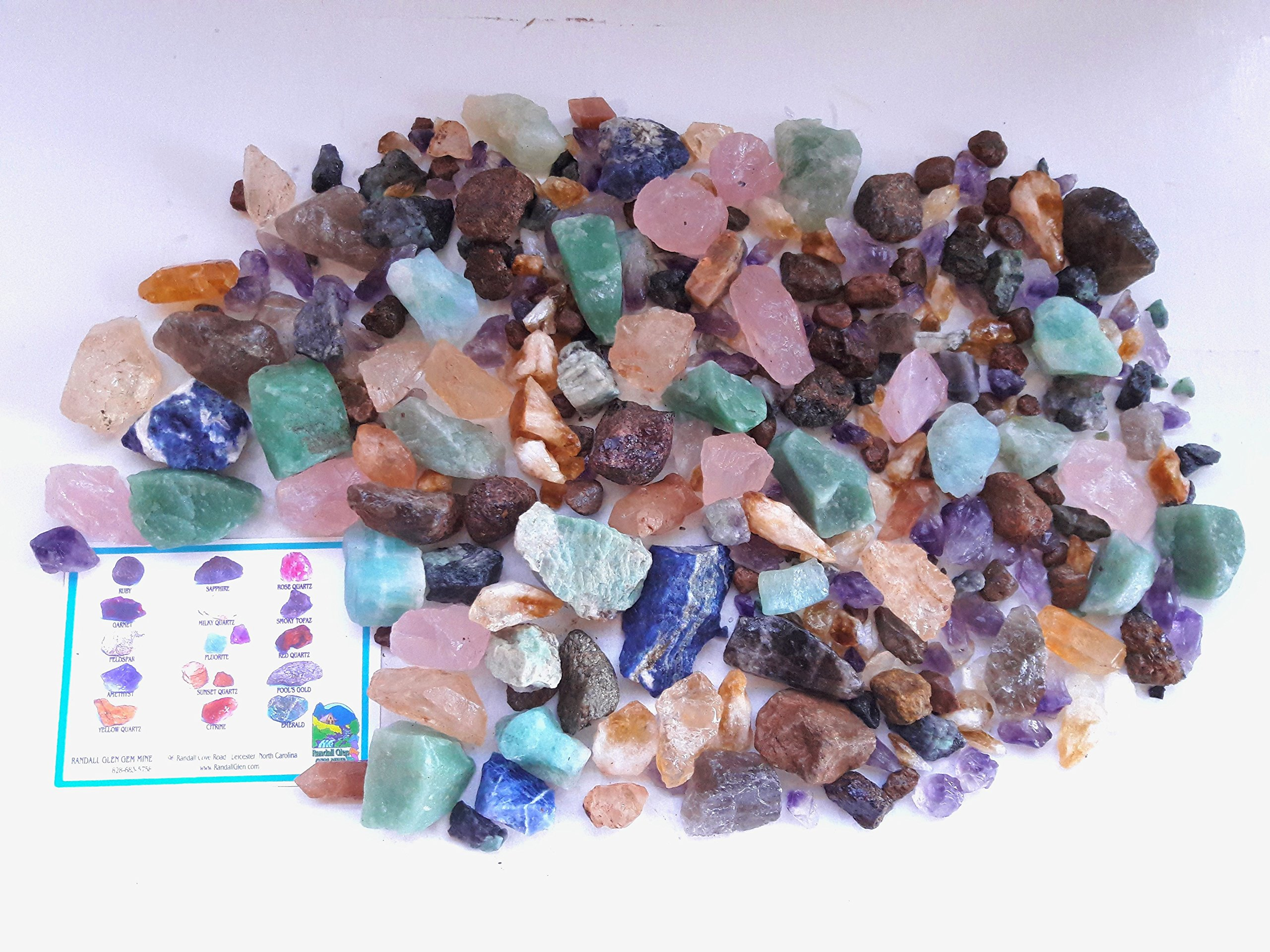 MOTHER LODE TREASURE BOX Home Gem Mining Kit 18,000+ Carats of Gems