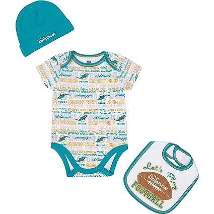 841c96e64 NFL Miami Dolphins Unisex-Baby Bodysuit