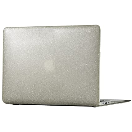 cheaper 4814a 0feb8 Speck Products 86370-5636 SmartShell Case for Macbook Air 13-Inch, Clear  with Gold Glitter