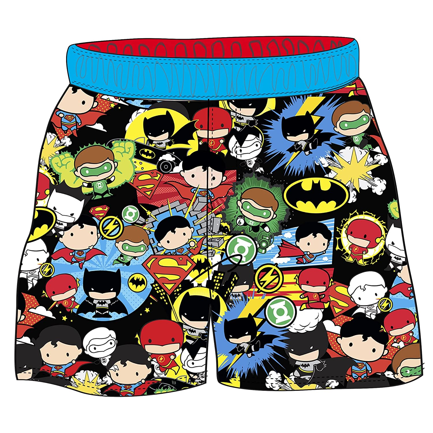 Warner Brothers Boys' Toddler Justice League Swim Short -