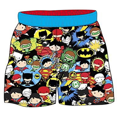 5d307a2874 Warner Brothers Toddler Boys' Justice League Swim Short, Multi, ...