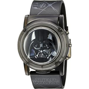 Star Wars Star Wars Kids DAR6000SR Digital Display Analog Quartz Black Watch