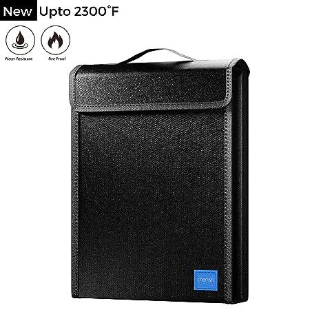 Amazon.com: Bolsa ignífuga para ordenador portátil, con ...