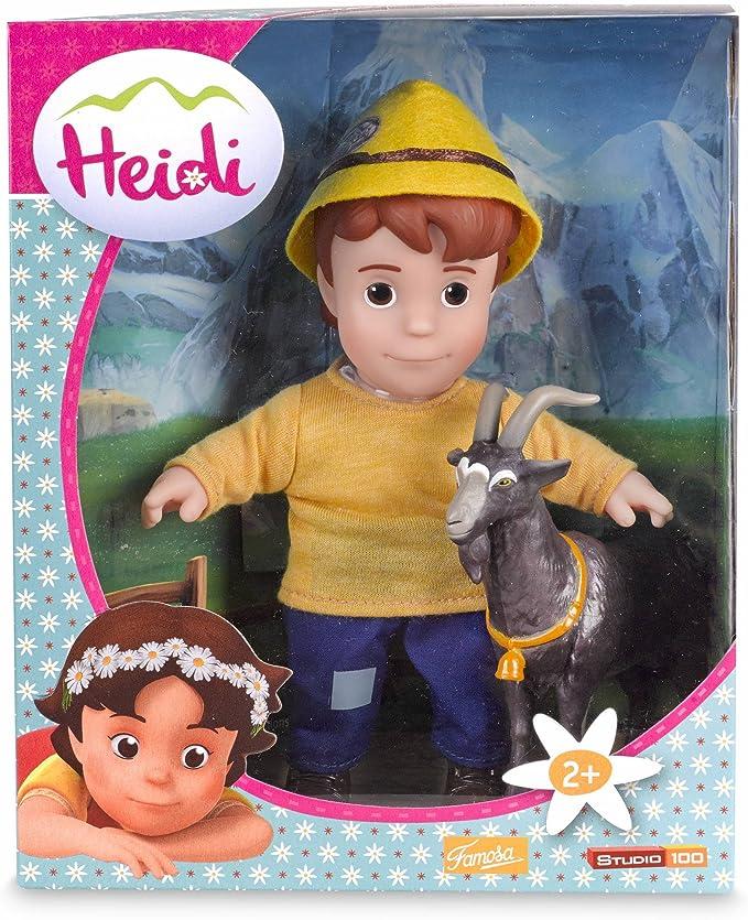 Heidi - Pedro y la Cabra (Famosa 700012540): Amazon.es: Juguetes y ...