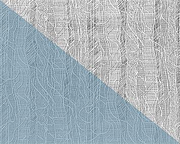Papier Peint Intissé EDEM 341 60 Blanc à Peindre Texturé Décorative |  Double 106 Cm