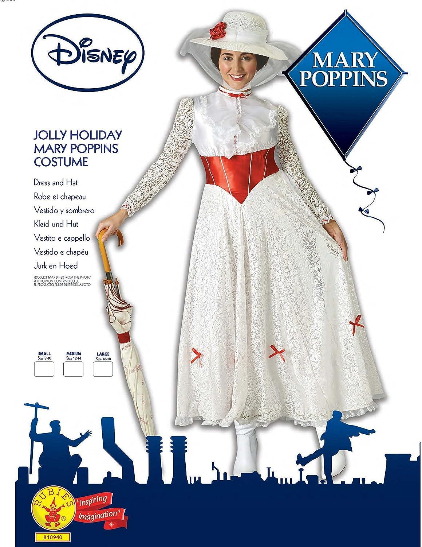 Grand Heritage - Disfraz Mary Poppins Ad, L (16 -18 años): Amazon.es: Juguetes y juegos