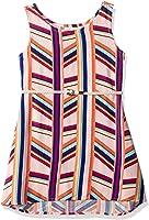 Crazy 8 Big Girls' Multi Stripe Woven Dress