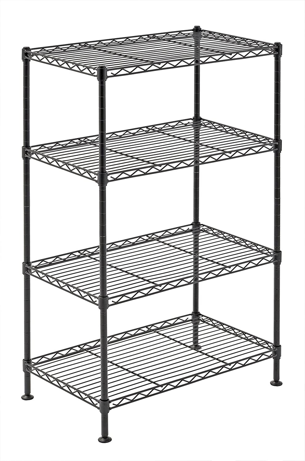 Sandusky Lee WS201232-C Industrial Welded Wire Shelving, 20-Inch Width x 32-Inch Height x 12-Inch Depth, Chrome