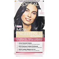 Coloração Imédia Excellence, L'Oréal Paris, 1.0 Preto Onix