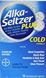 Alka-Seltzer Plus Cold - 72 tablets
