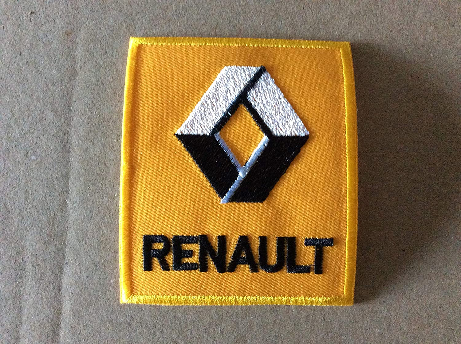 Renault 7,5 BLUE HAWAI ECUSSON Patches AUFNAHER Toppa THERMOCOLLANT 9 CM
