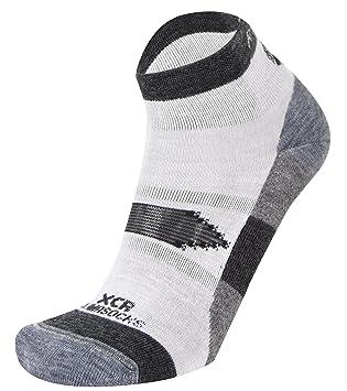 Rywan Xcr Climasocks - Calcetines para hombre, color gris, talla 35/37