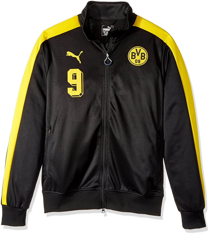 PUMA Mens BVB T7 Jacket