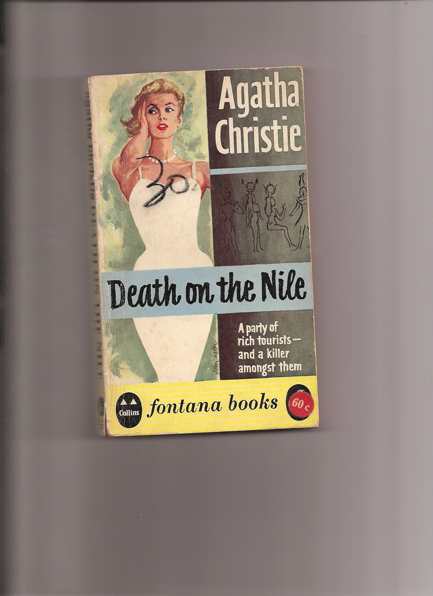 Death Nile Hercule Mystery Mysteries product image