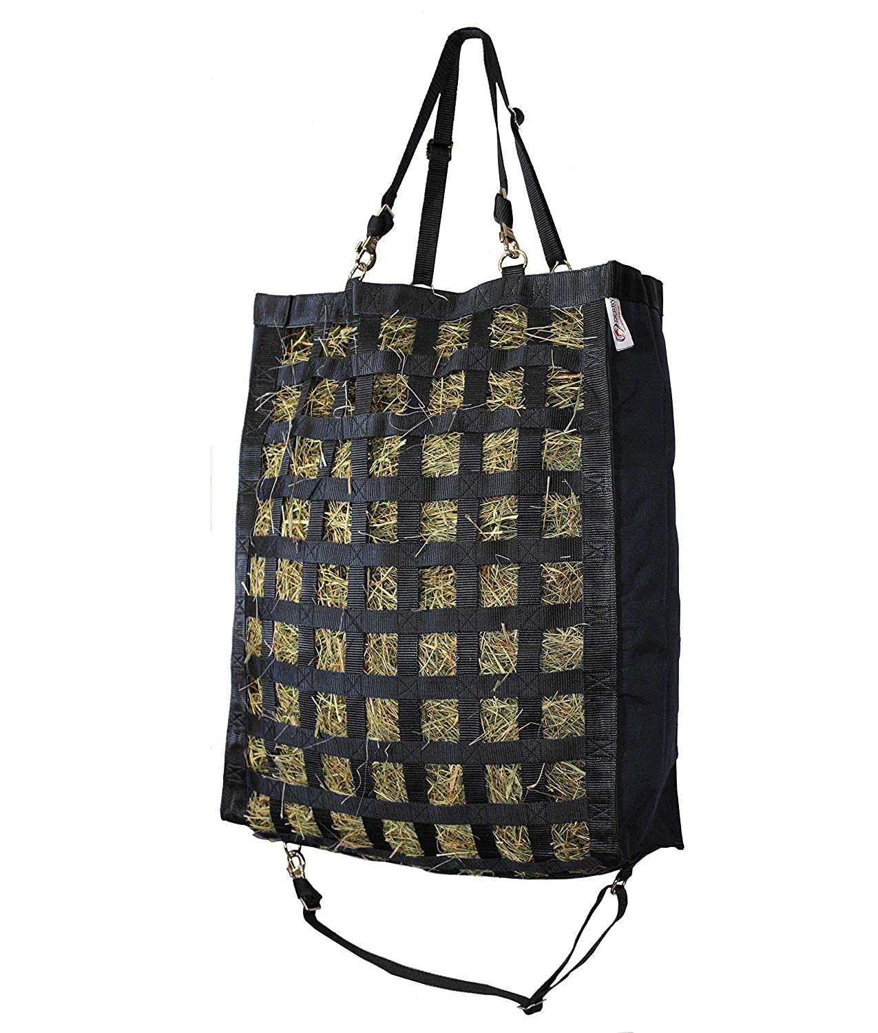 Slow Feed Hay Bag with Newly Designed Super Tough Bottom by Derby Originals