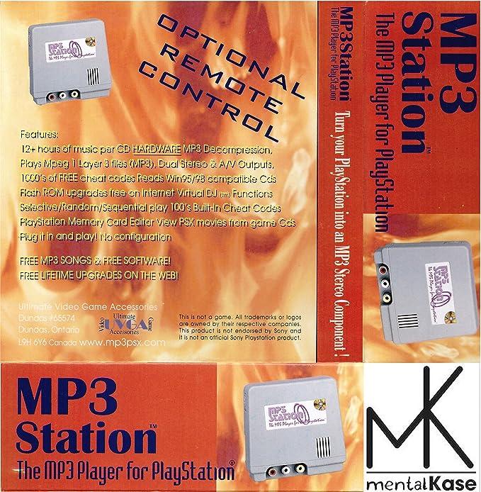 mentalKase MP3Station - MP3 Player & Gameshark/Game Enhancer