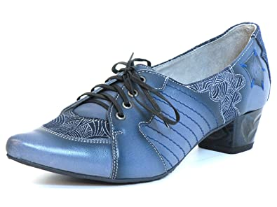 Maciejka Women Pumps blue, (blau-kombi) 03200-17/00-