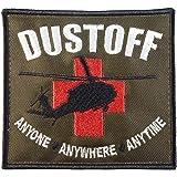 DUSTOFF US Army Ambulance CASEVAC Medical Evacuation MEDEVAC Fastener Patch