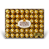 Ferrero Rocher Fine Hazelnut Chocolates, 48 Count Flat, 21.2 oz.