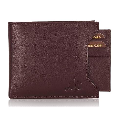 HORNBULL Brown Rigohill Leather Men's Wallet