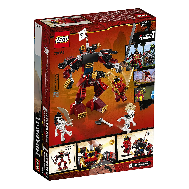 Amazoncom Lego Ninjago Legacy Samurai Mech 70665 Building Kit