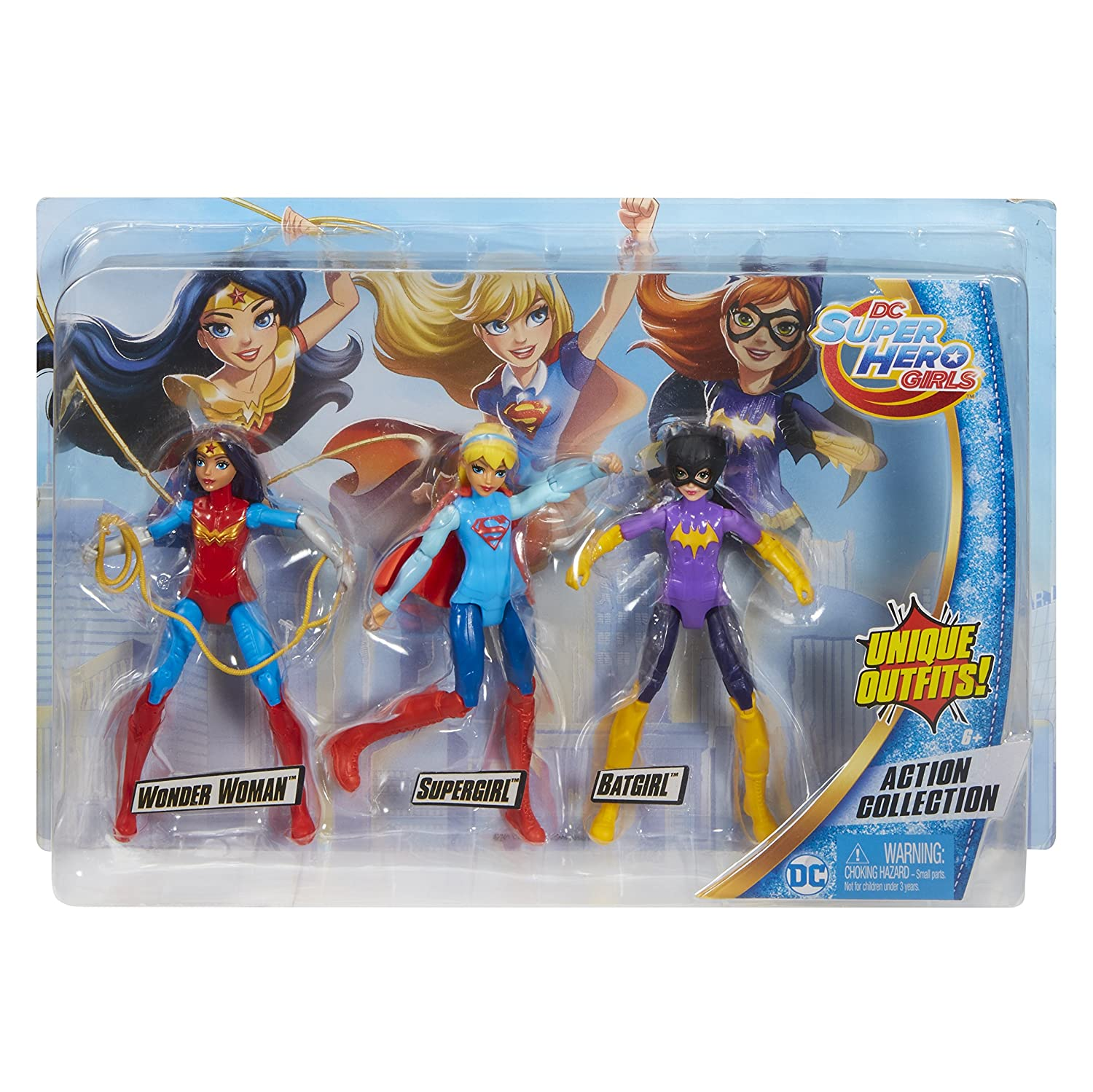 DC Super Hero Girls Action Figure 3 Pack