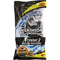 Wilkinson Xtreme 3 Black 6 Jetables