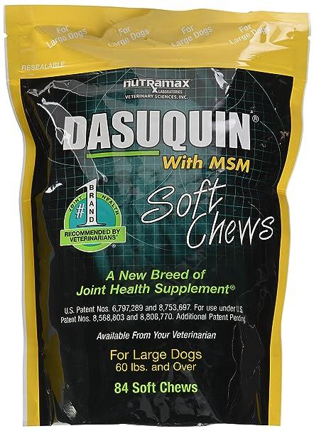 Nutramax Dasuquin con MSM Suave – Chucherías para Perros