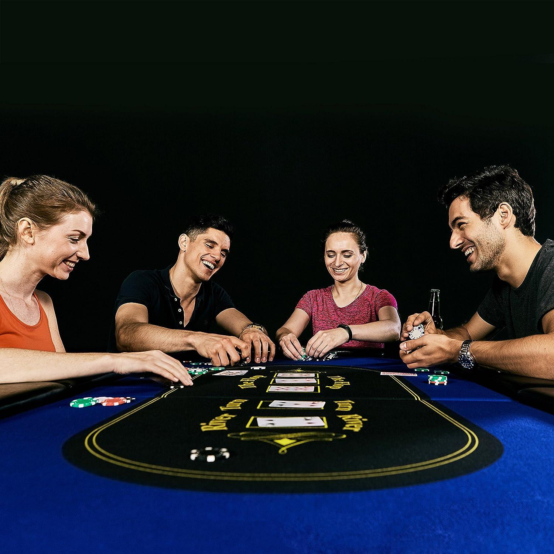 Amazon Barrington Texas Holdem Poker Table for 10 Players