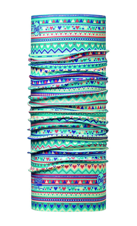 Buff Tubo Multiuso Handicraft Kids protezione faccia bandana fascia per capelli Buff Handicraft Turchesse Taglia Unica 115084.789.10.00