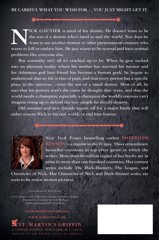 Amazon: Illusion: Chronicles Of Nick (9781250002877): Sherrilyn Kenyon:  Books