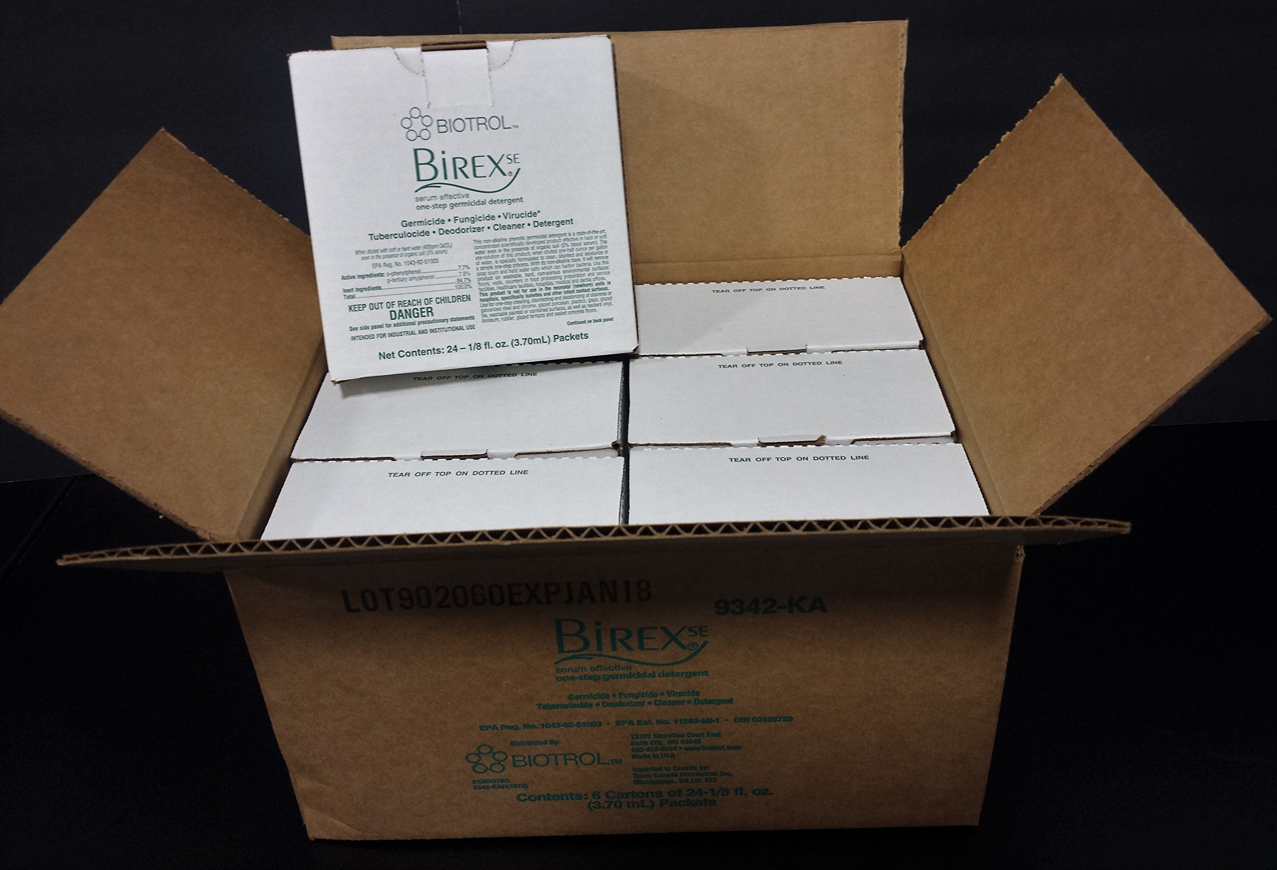 BIREX se Clinic Pack 144 1/8 oz Packets Makes 144 32oz Bottles