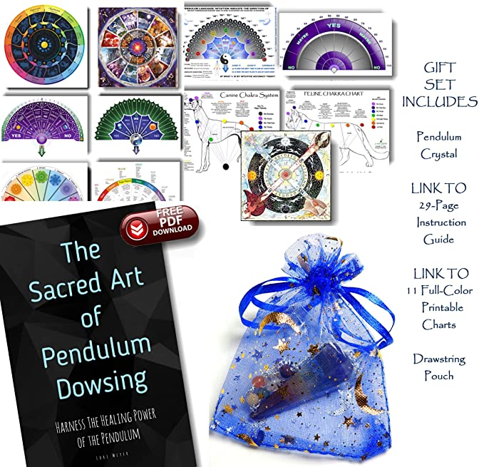 photograph about Printable Pendulum Board named Residing Machines Crystal Pendulum with Obtain Connection toward 11 Charts and 29-Site Direct - Crystal clear Your Household Sacred Room, Cure You, Harmony Align
