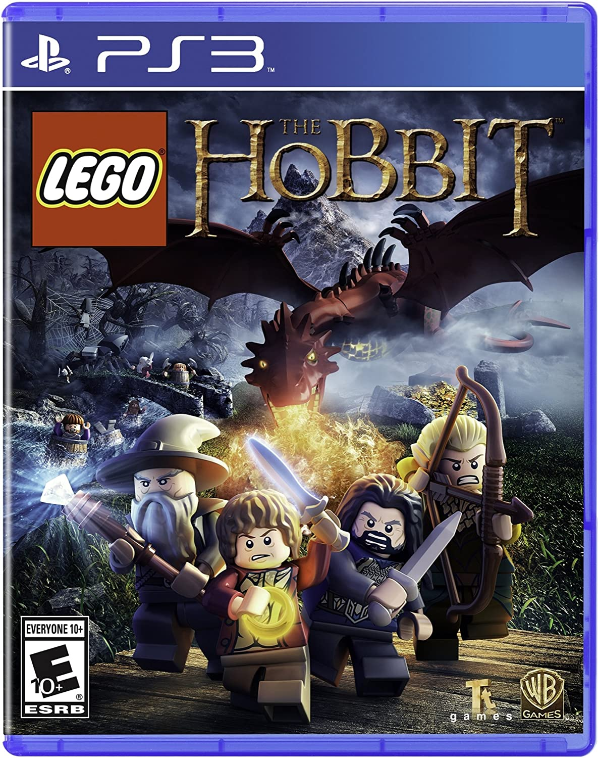 Amazoncom Lego The Hobbit Playstation 3 Whv Games Video Games