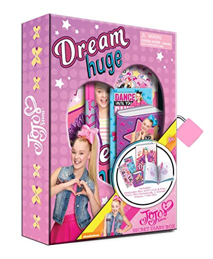 Image Unavailable. Image not available for. Color  Jojo Siwa Diary Set 462045c95