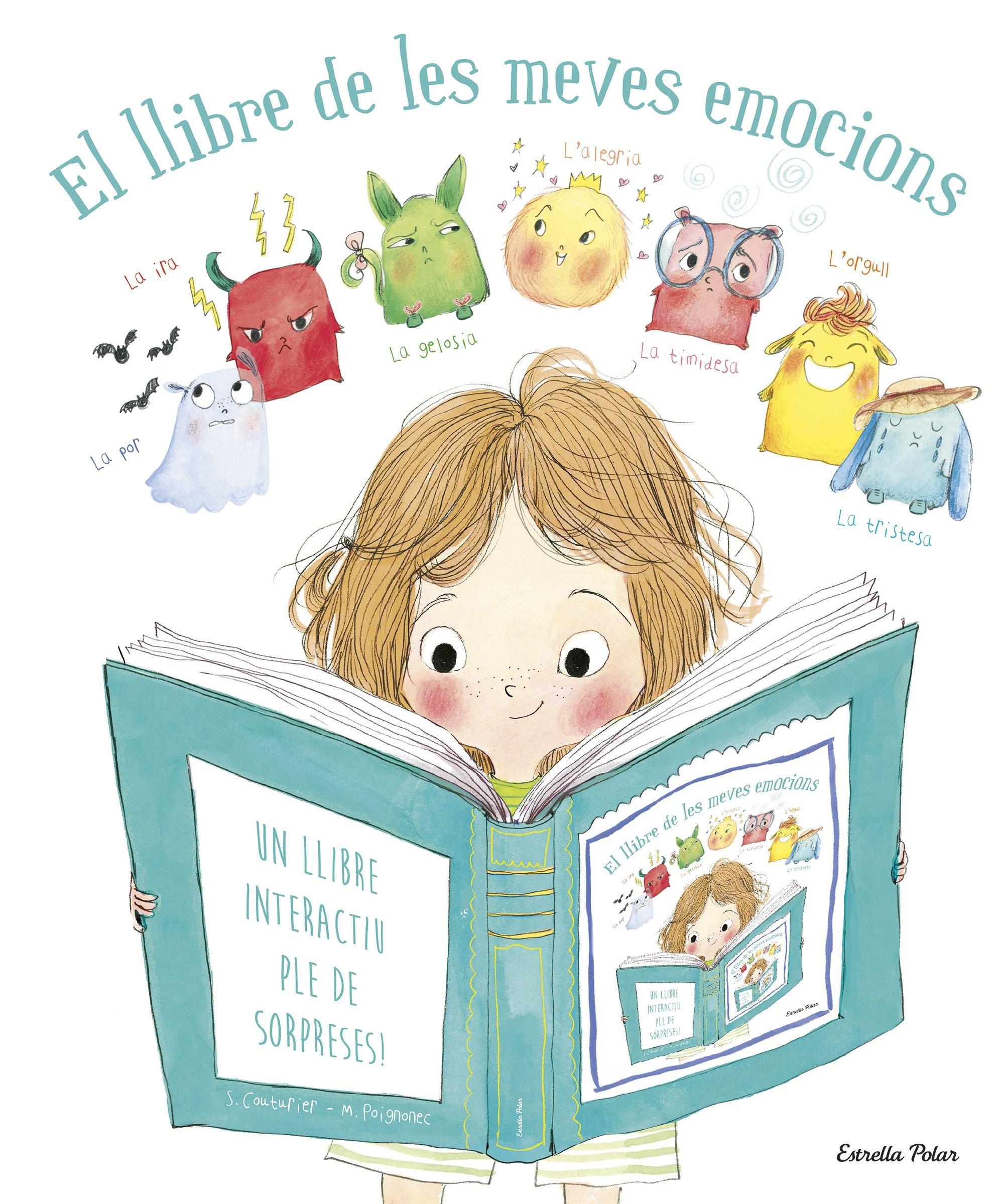El llibre de les meves emocions: Un llibre interactiu ple de sorpreses! La Lluna de Paper: Amazon.es: Couturier, Stephanie, Poignonec, Maurèen, Grup 62: Libros