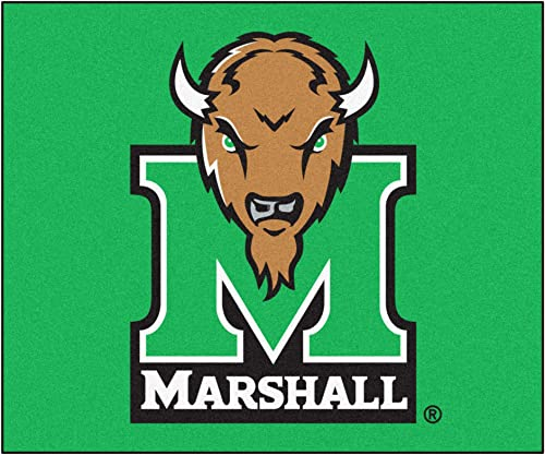 FANMATS NCAA Marshall University Thundering Herd Nylon Face Tailgater Rug