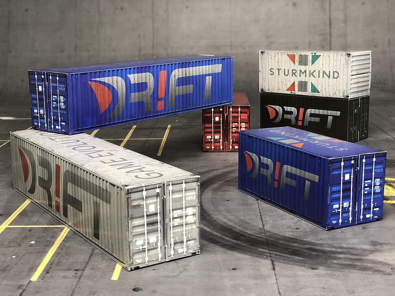 Hafen-Dock m Drift Rennstrecke DR!FT by Sturmkind DR!FT Container-Set