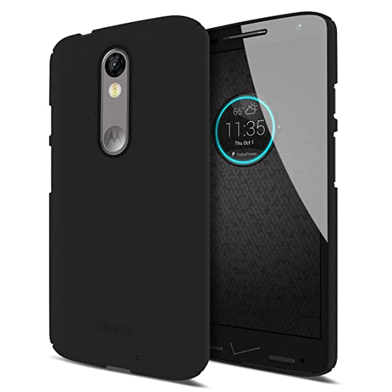 Moto Droid Turbo 2 Case, Centra Snap Case for Moto Droid Turbo 2 [1.2